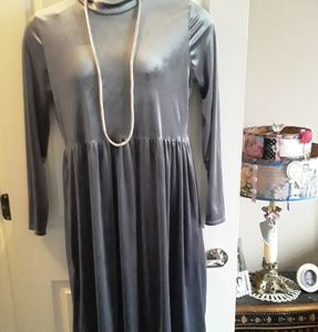 Ashley LeMieux Stretch Velvet Dress XL